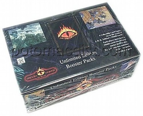 Middle Earth Collectible Card Game [CCG]: The Wizards Booster Box [Unlimited]