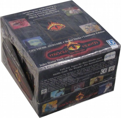 Middle Earth CCG: The Wizards Starter Deck Box [Limited/German/Deutsche Ausgabe]