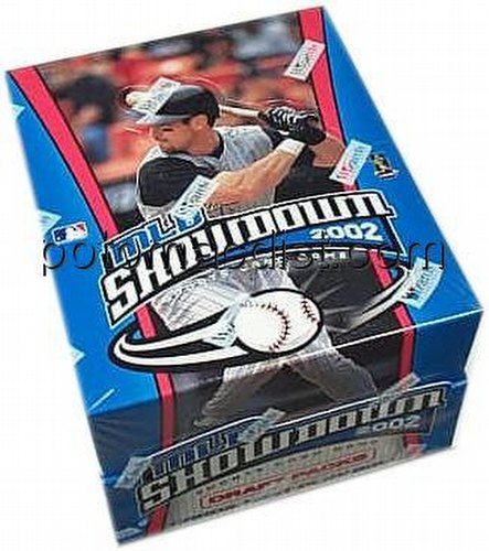MLB Showdown Sport Card Game: 2002 [02] Draft Pack Box
