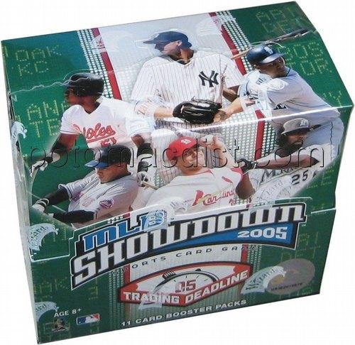 MLB Showdown Sport Card Game: 2005 [05] Trading Deadline Booster Box