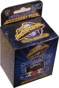 Monsterpocalypse Collectible Miniatures Game [CMG]: Blue Accessory Pack
