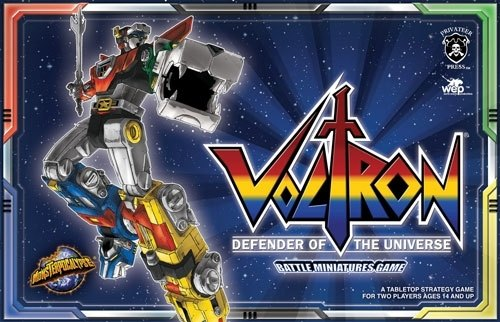 Monsterpocalypse [CMG]: Voltron Defender of the Universe Game Box