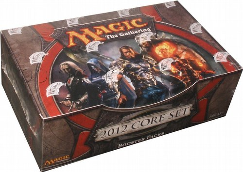 Magic the Gathering TCG: 2012 Core Set Booster Box