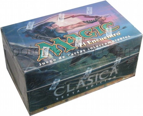 Magic the Gathering TCG: 6th Edition Tournament Pack Starter Deck Box [Spanish]