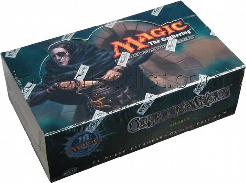 Magic the Gathering TCG: 8th Edition Booster Box [Spanish]