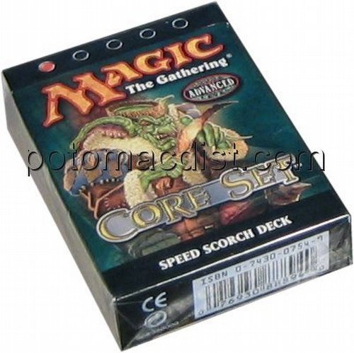 Magic the Gathering TCG: 8th Edition Speed Scorch Starter Deck