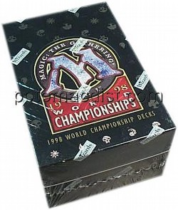 Magic the Gathering TCG: World Champ 1998 [98] Starter Deck Box