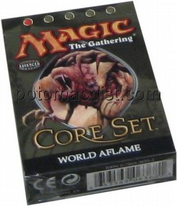 Magic the Gathering TCG: 9th Edition World Aflame Theme Starter Deck