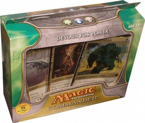 Magic the Gathering TCG: Commander Devour For Power Deck