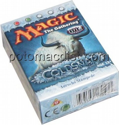 Magic the Gathering TCG: Coldsnap Aurochs Stampede Starter Deck
