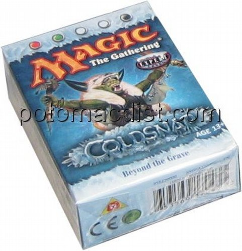 Magic the Gathering TCG: Coldsnap Beyond the Grave Starter Deck
