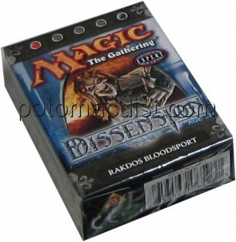 Magic the Gathering TCG: Dissension Rakdos Bloodsport Starter Deck