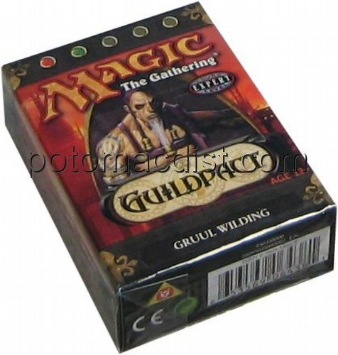 Magic the Gathering TCG: Guildpact Gruul Wilding Starter Deck