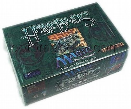Magic the Gathering TCG: Homelands Booster Box