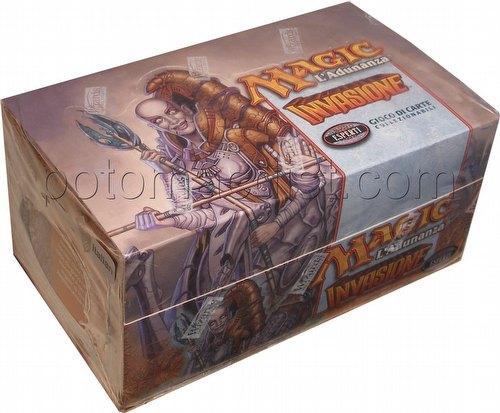 Magic the Gathering TCG: Invasion Tournment Pack Starter Deck Box [Italian]