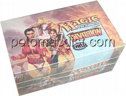 Magic the Gathering TCG: Invasion Theme Starter Deck Box [Japanese]