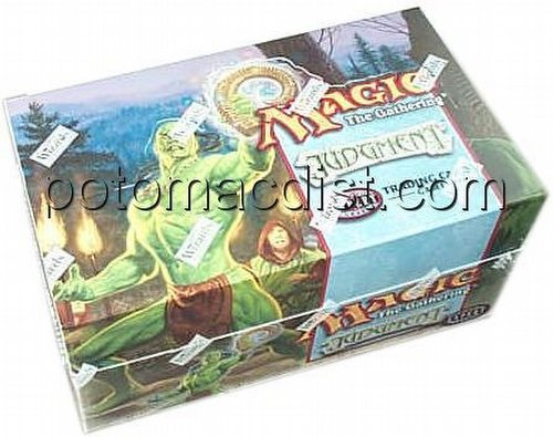 Magic the Gathering TCG: Judgment Theme Starter Deck Box