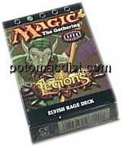Magic the Gathering TCG: Legions Elvish Rage Starter Deck