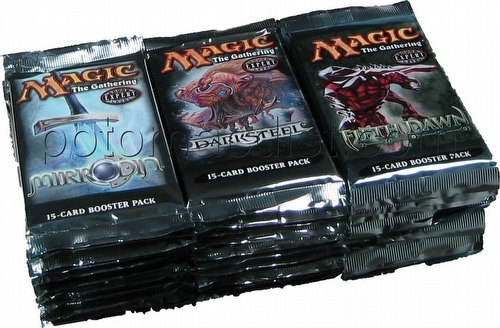 Magic the Gathering TCG: Mirrodin Block Draft Box