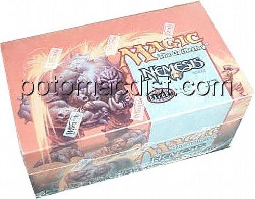 Magic the Gathering TCG: Nemesis Theme Starter Deck Box [Japanese]