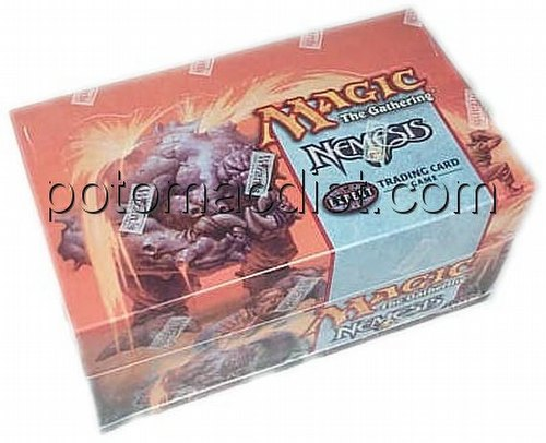 Magic the Gathering TCG: Nemesis Theme Starter Deck Box