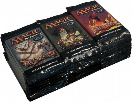 Magic the Gathering TCG: Onslaught Block Draft Box