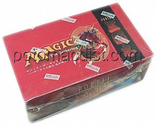 Magic the Gathering TCG: Portal 3 Kingdoms Booster Box [Japanese]