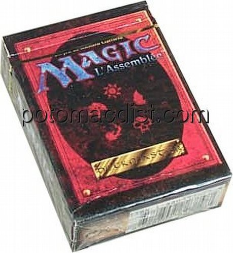 Magic the Gathering TCG: 4th Edition Starter Deck [French]