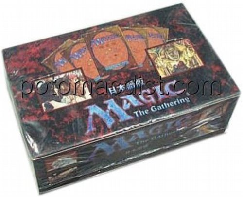 Magic the Gathering TCG: 4th Edition Booster Box [Japanese]