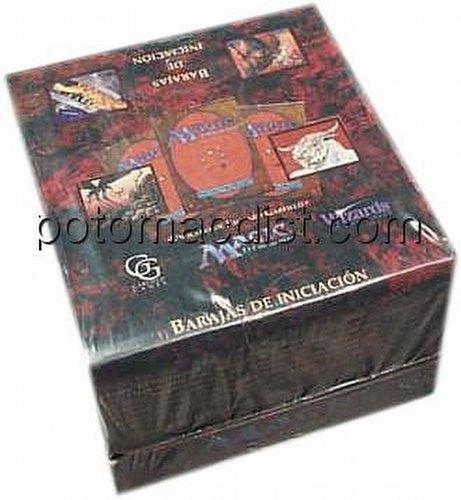 Magic the Gathering TCG: 4th Edition Starter Deck Box [Spanish]