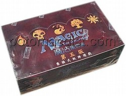 Magic the Gathering TCG: 5th Edition Booster Box [Chinese]