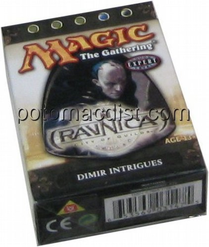 Magic the Gathering TCG: Ravnica City of Guilds Dimir Intrigues Theme Starter Deck