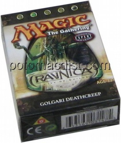 Magic the Gathering TCG: Ravnica City of Guilds Golgari Deathcreep Theme Starter Deck