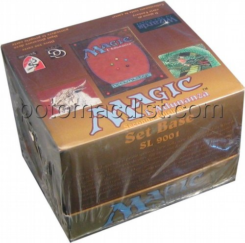 Magic the Gathering TCG: 3rd Edition Revised Starter Deck Box [Italian/White Border]