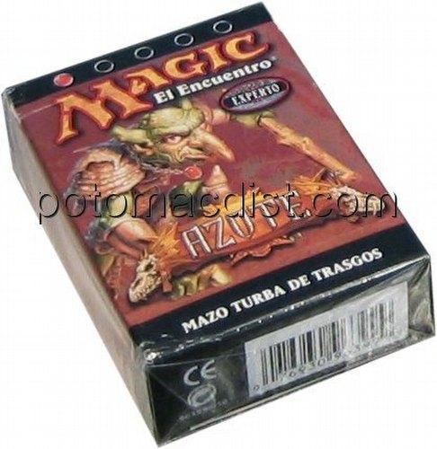 Magic the Gathering TCG: Scourge Goblin Mob (Turba De Trasgos) Starter Deck [Spanish]