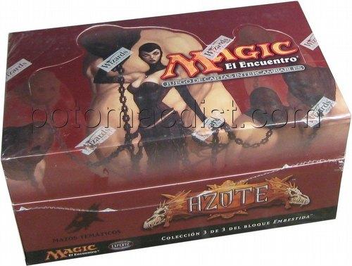 Magic the Gathering TCG: Scourge Theme Starter Deck Box [Spanish]