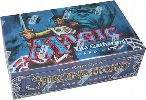 Magic the Gathering TCG: Stronghold Booster Box [Korean]