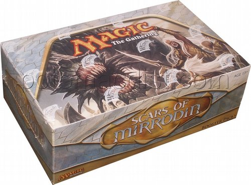 Magic the Gathering TCG: Scars of Mirrodin Booster Box