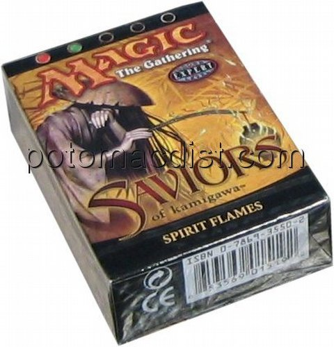 Magic the Gathering TCG: Saviors of Kamigawa Spirit Flames Starter Deck