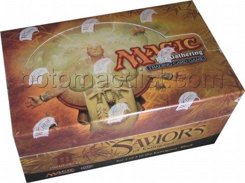 Magic the Gathering TCG: Saviors of Kamigawa Theme Starter Deck Box