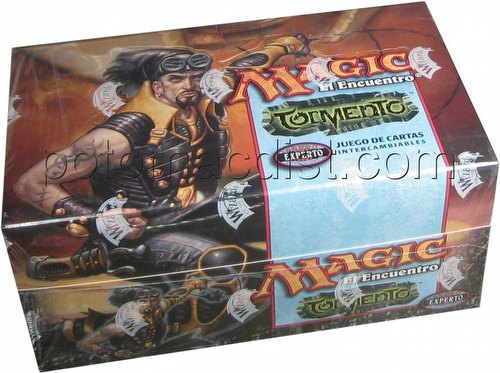 Magic the Gathering TCG: Torment Theme Starter Deck Box [Spanish]