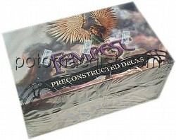 Magic the Gathering TCG: Tempest Preconconstructed Starter Deck Box
