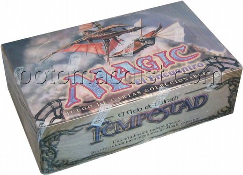 Magic the Gathering TCG: Tempest Booster Box [Spanish]
