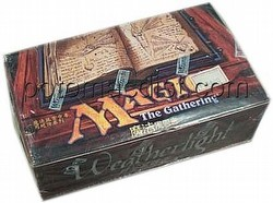 Magic the Gathering TCG: Weatherlight Booster Box [Chinese]