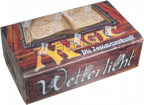 Magic the Gathering TCG: Weatherlight Booster Box [German]
