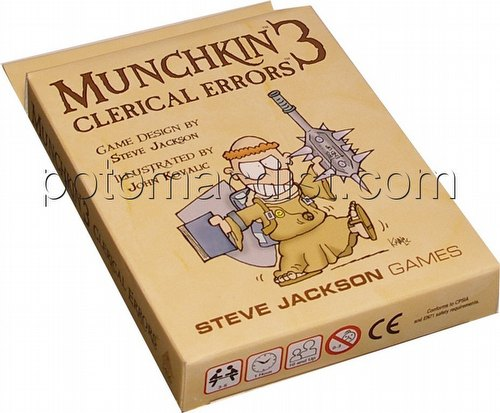 Munchkin 3: Clerical Errors (Revised Edition)