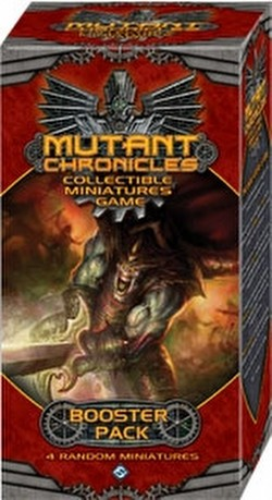 Mutant Chronicles Collectible Miniatures Game [CMG] Booster Case [6 boosters]