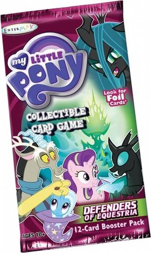 My Little Pony CCG: Defenders of Equestria Booster Case [6 boxes]