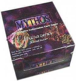 Mythos Collectible Card Game [CCG]: Starter Deck Box [Limited]
