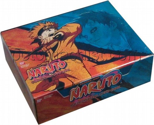 Naruto: Curse of the Sand Booster Box [1st Edition]